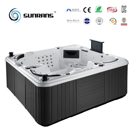 Hot Sale Luxury Massage Hot Tub For 5 Person Bathtub Outdoor SPA