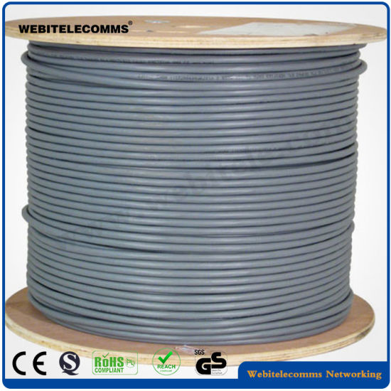 S/FTP Shielded Network Cable Cat 6A Twisted Pair Installation Cable pictures & photos