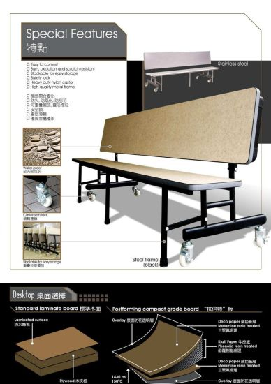 china 2017 high quality wooden folding bench china folding tables