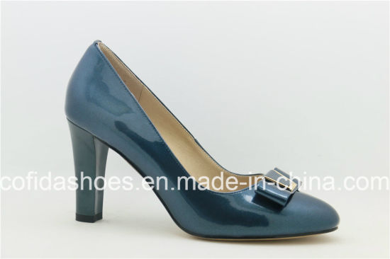 f67718855dce China Latest Professional Lady Patent Leather High Heels - China ...