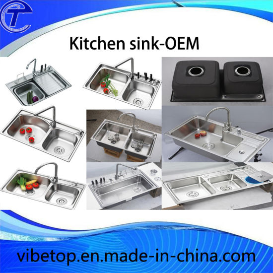 2016 New Style Kitchen Sink with Stainless Steel 304 pictures & photos