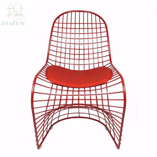china replica s shaped panton wire s chair china panton s chair