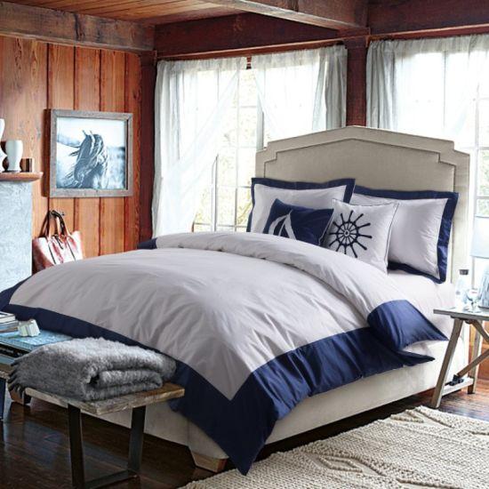 Wholesale 5-Star 40s King Size Satin Egyptian Cotton Hospital/Hotel Bedding Set