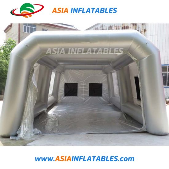 Mobile Automatic Inflatable Portable Car Spray Booth Tent for Sale