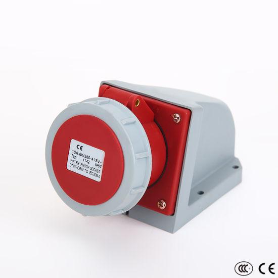 IP67 International Standard Male and Female Industrial Plug and Socket