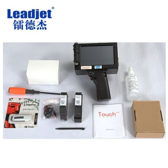 Small Handheld Portable Inkjet Printer for Date Coding Machine