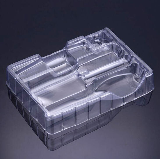 Chinese Factory Custom PVC Blister Tray Clear Plastic Product Packing pictures & photos