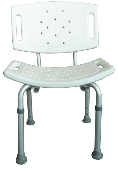 Health Care Supplies Shower Chair for Elderly or Disabled People.