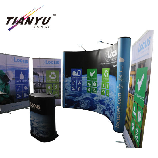 New Arrival Advertising Pop up Aluminum Display Backdrop Banner Stand