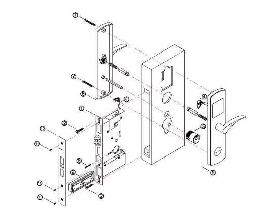 China Door Lock Price Deadbolt Door Lock Lock Set