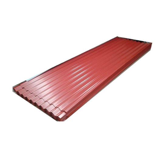 Color Coated Aluminium Roof Trapezoid Corrugated Roofing Aluminum Sheet