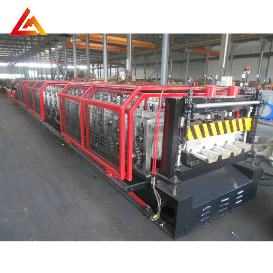 Yx65-220-880 Pass Ce Steel Roll Forming Machine for Floor Decking Profile