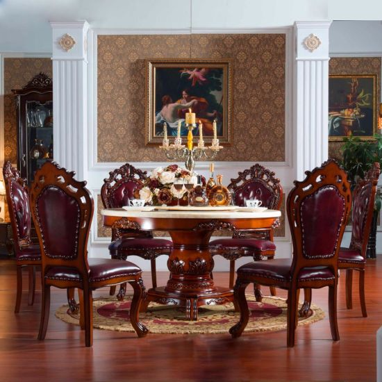 Dining Room Furniture Rotary Marble, Dining Room Furniture Buffet