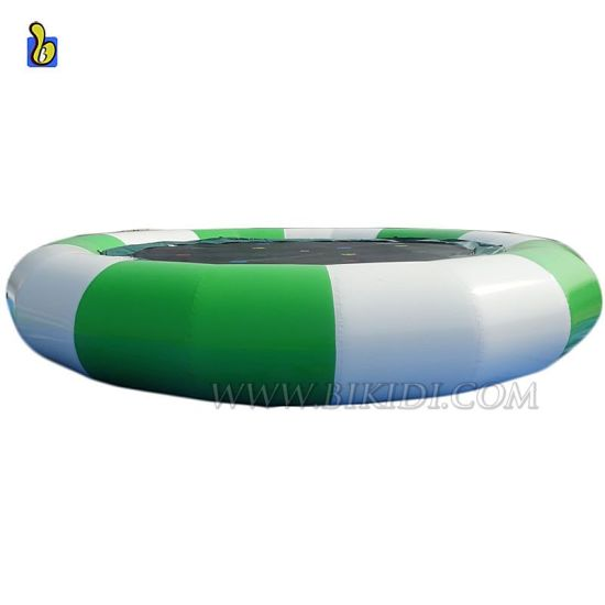 Outdoor Inflatable Water Trampoline, Inflatable Floating Water Toys for Sale D3017-2 pictures & photos