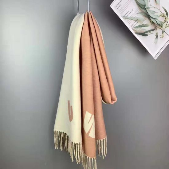 Fy Half a Letter Winter and Autumn Long to Keep Warm Woman Scarf Gentlewomanly Shawl All-Match Fashion