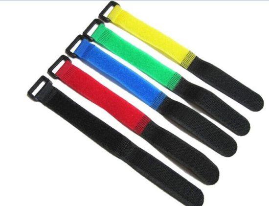 bc515de5398b Cable Tie Velcro Nylon Strap Wire Management Magic Tape pictures & photos