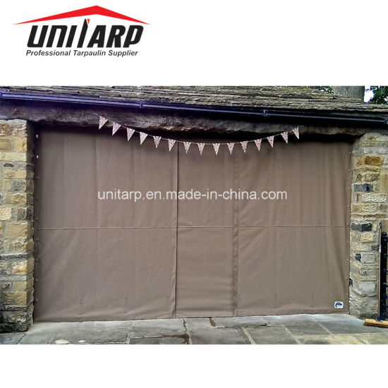 Industrial High Speed Rolling Door, Garage Door PVC Tarpaulin