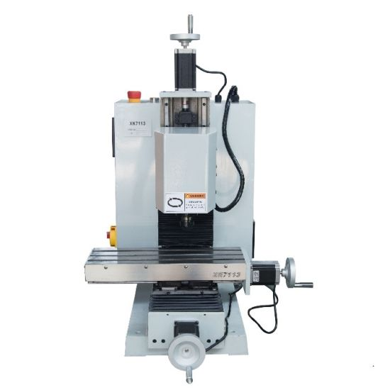 XK7113A China hobby CNC milling machine for metal cutting