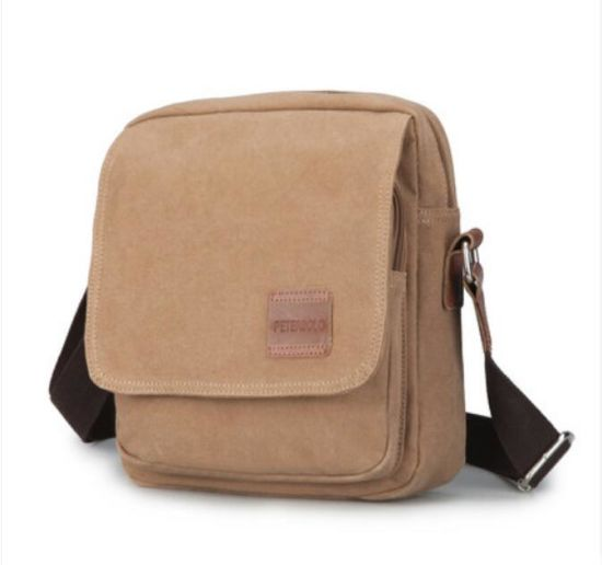 afbf1bbe07 Retro Design Messenger Twill Cotton Shoulder Bags for School Travel (BS1103)