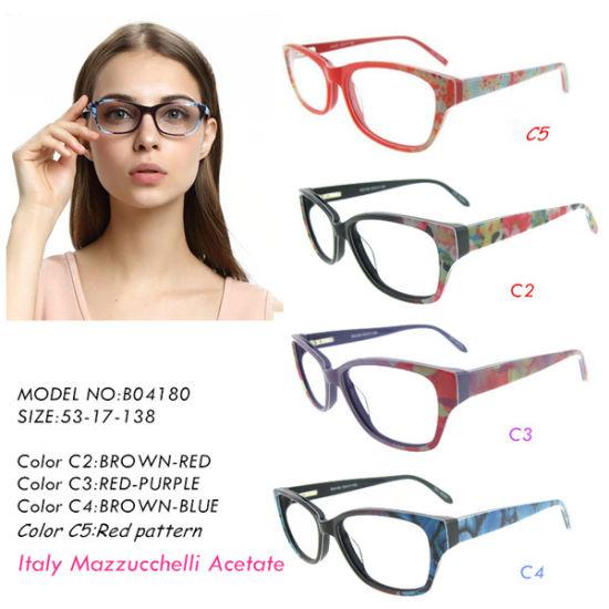Best Eyeglass Frames 2019 China 2019 Best Selling Fashion Acetate Optical Eyeglass Frame for