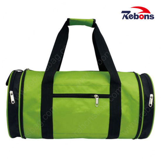 Unique Design Durable Foldable Barrel Bucket Bar Travel Bag for Gym Sport Exercise