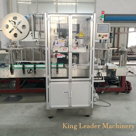 Automatic Shrink Label Sleeving Wrapping Machine