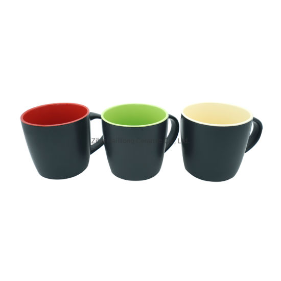 11oz Matte Glazed Ceramic Mug
