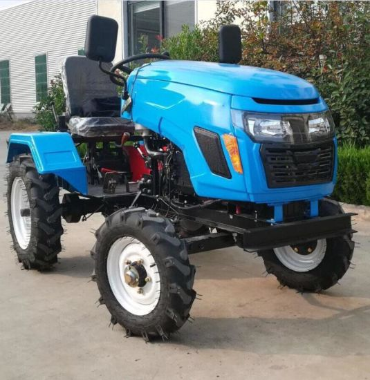 12HP 15HP 18HP 20HP Mini Small 4wheel Farm Tractor Fashion Tractors