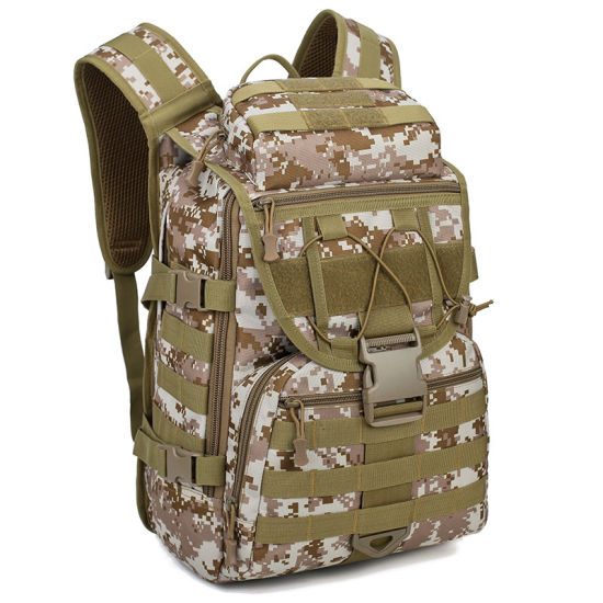 Outdoor Military Tactical Camping Backpack Hiking Sports Bag Multi-pockets