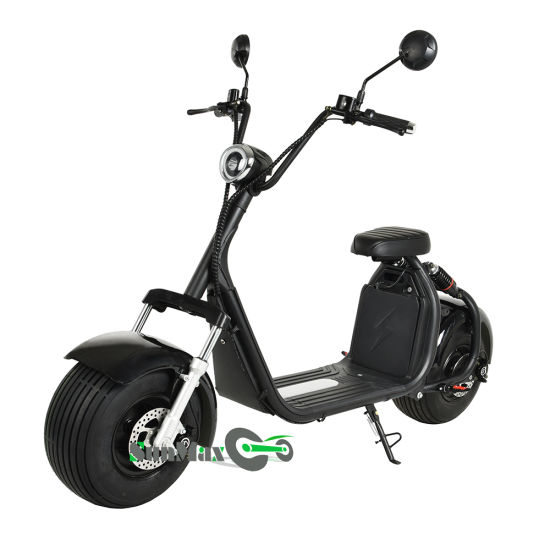 Newly Designed Wide Wheel Electric Scooters pictures & photos