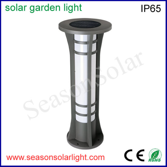 Factory Supply IP65 Solar Product Outdoor Aluminum Solar Garden Lighting with Double LED Lights pictures & photos