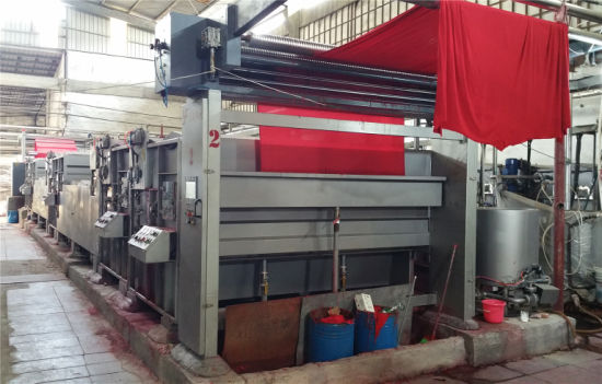 Textile Industrial Knitting Full Width Washing Machine After Printing