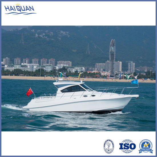 12 Seats Affordable Luxury Yacht High Speed Military Patrol Rescue Boat Leisure Sightseeing