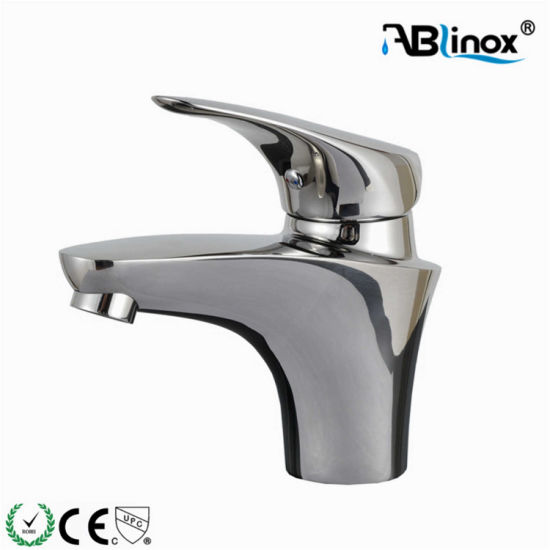 Ablinox Stainless Steel Single Handle Classic Design Basin Faucet
