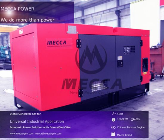 China 30kVA Silent Type Diesel Generator with Original