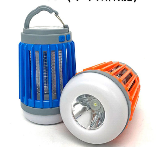 2 in 1 LED Camping Lantern with Mosquito Killer and Torch pictures & photos