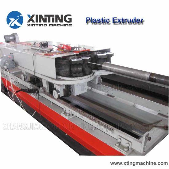 PE PP PVC Single Wall Plastic Corrugation Pipe Production Machine