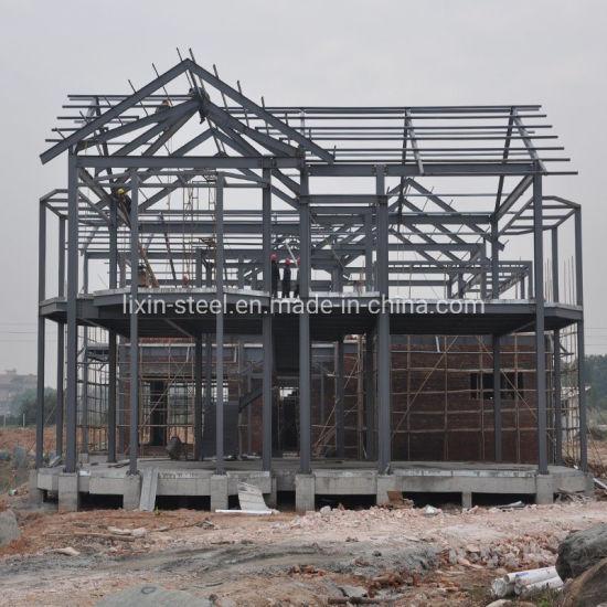 Affordable Prefab Modular Building Steel Structure Frame Villa Prefabricated House