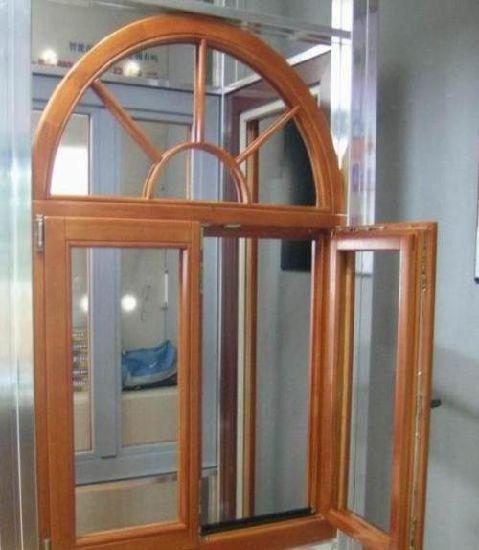 Customized European America Australia Standard Tempered Glass Aluminum Soundproof Casement Window Building Material