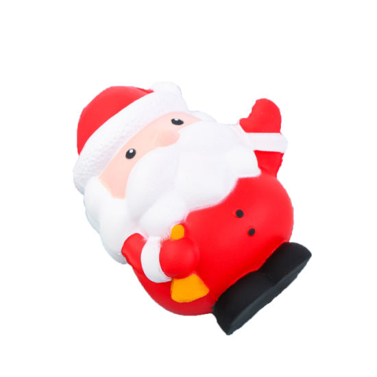 Christmas Slow Rising Squishy Santa Claus and Snow Man Stress Relief Toys for Kids Gift