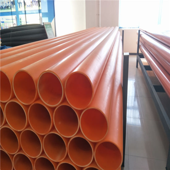 80mm Mpp Electrical Power Protection Plastic Pipe