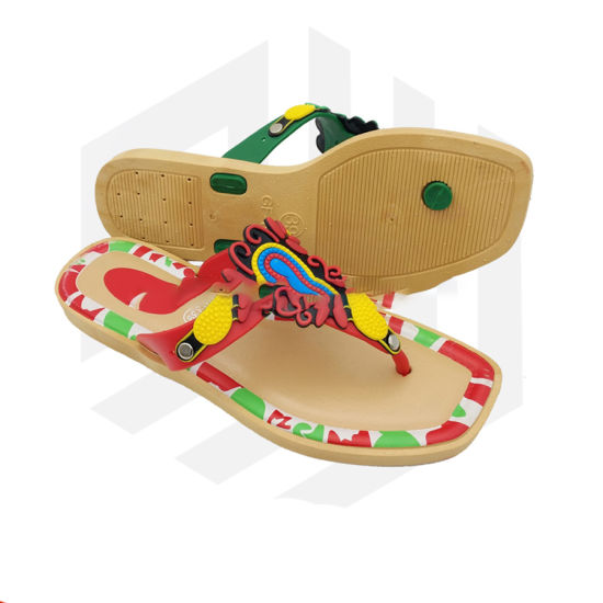 36a35a130 Fashion Lady Flat Shoe Summer China Factory Slippers - China Slipper ...