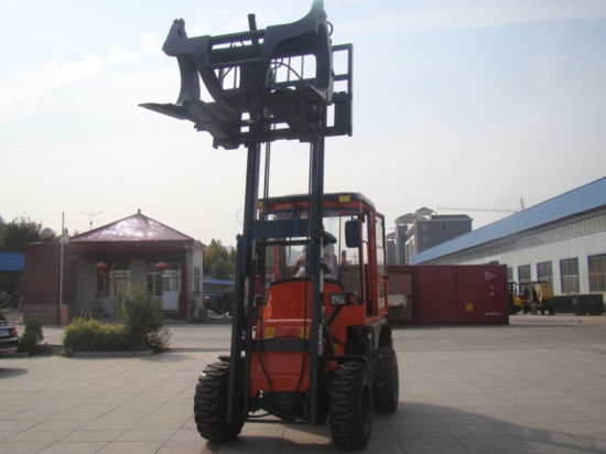 Xdyc30 Terrain Forklifts 3.0 Ton 3.0m pictures & photos