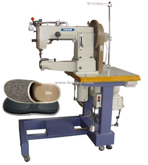 China Cylinder Bed Compound Feed Sewing Machine For Heavy Leather China Cylinder Bed Sewing Machine Extra Heavy Duty Machine