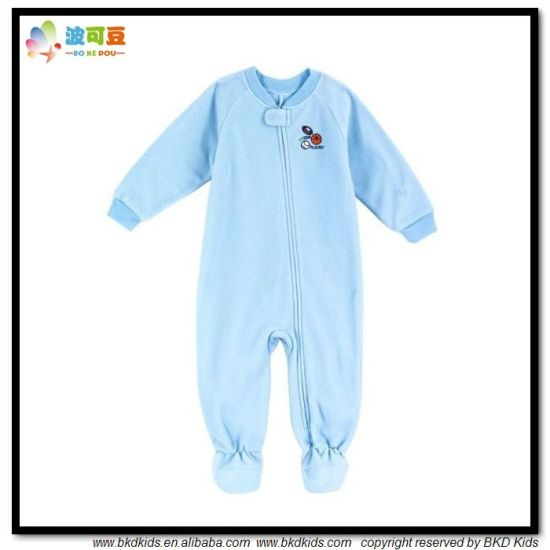Warm Winter Baby Apparel Plain Dyed Babies Jumpsuits