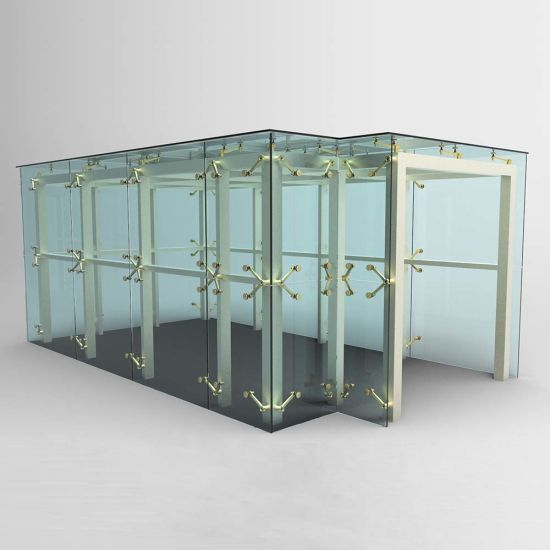 Mirror or Satin Curtain Wall Fixing Glass Spider pictures & photos