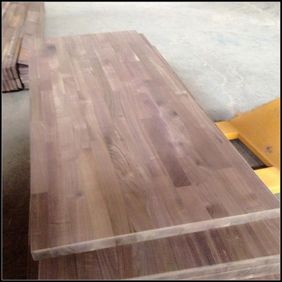 American Black Walnut Finger Joint Panel/Worktop pictures & photos
