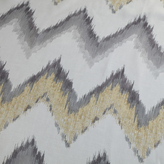 Direct Factory Printed Fabric Jacquard Polyester Curtain Fabric