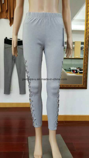 Wholesale Fashion Softness Women Fitness Pants pictures & photos