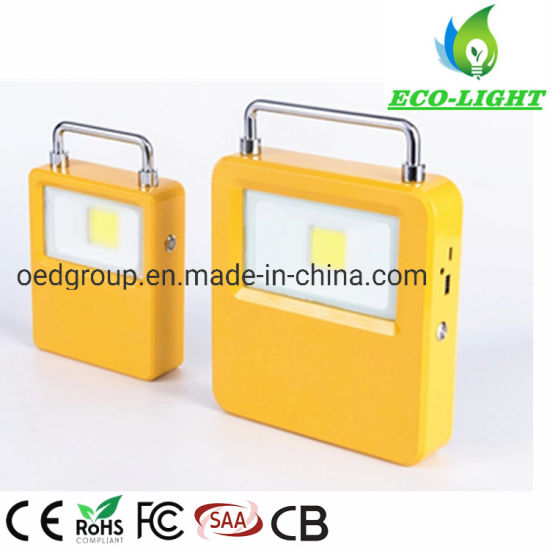 IP65 20W COB LED Solar Powered Outdoor Flood Lights Camping Lamp